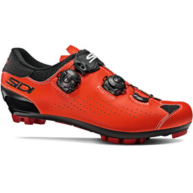 Sidi MTB Eagle 10 Sko Herrer, black/red fluo